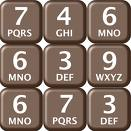 Image of telephone keypad